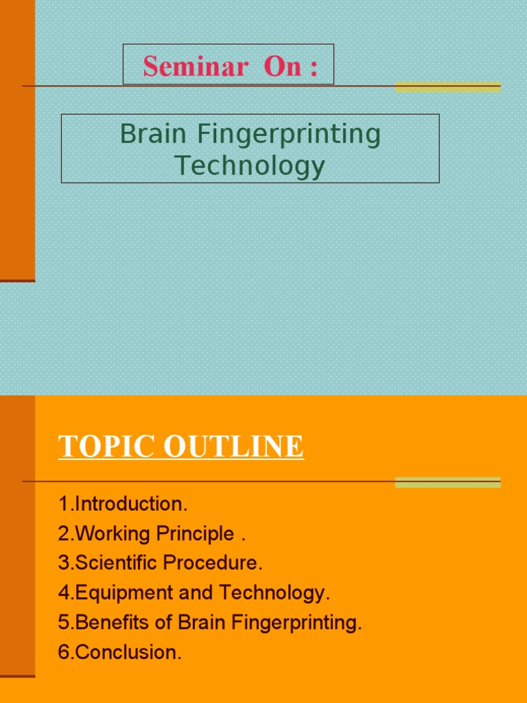 the brain fingerprinting technology Government works, a federal contractor, wins contract to provide brain fingerprinting technology to singapore police force.