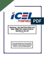 Manual Do Multímetro SK-20