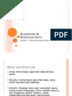 Kuliah AlgoStrukDat Structure