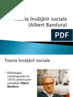 Teoria Invatarii Sociale_Curs 4