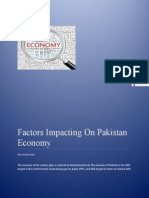 Project Report Factors on Economy