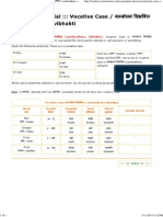 8 Vocative Case