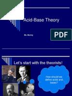 Acid Base Theory