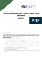 PPPM Matematik Tahun 1