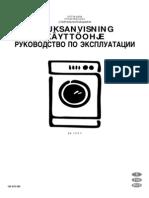 Electrolux EW 1075F Manual