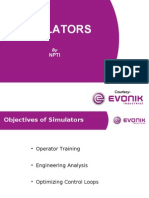Best Practices- Simulator Training