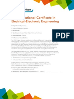 HNC Electrical Engineering Sunderland