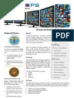Tech Ops Brochure
