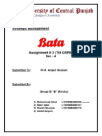 Bata Strategic Management.docx