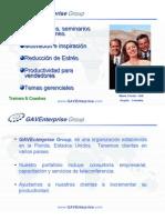 Portafolio Gaventerprise Consulting 2008