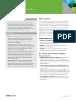 VMware-vSphere-Datasheet
