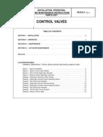 Dlo & Ddlo Control Valve Iom