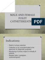 Male and Female Bladder Catheterization