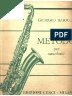 Metodo Per Saxofone