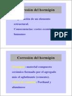 Corrosion Hormigon