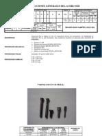 Especificaciones Generales Del Acero 1020