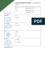 Formulas Para Area y Volumen
