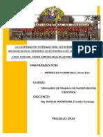 Ensayo de La Economia Peruana Pre Final