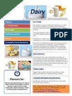 Dairy Flavour Segments
