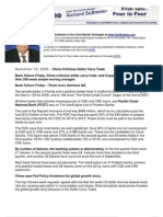 China Criticizes Dollar Carry Trade