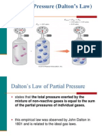 7.9 Partial Pressures (Dalton's Law)