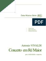 Antonio Vivaldi Concerto Em Ré Maior