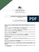 Coleção de Obras Sobre o Brasil - Bibliografia