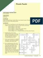 Plurals Puzzle