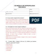 Avaliação 13- Antropologia Teológica.doc