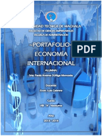 Portafolio Economía Internacional. Paola a. Zúñiga Moncada.