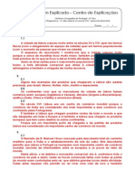 2.2.4 Ficha de Trabalho - A Vida Urbana Do Século XVI - Lisboa Quinhentista (1) - Soluções