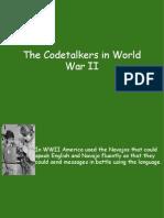 Code Talkers in World War II
