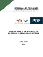 Formatos para Trabajo de Investigación, Plan de Tesis, Desarrollo de Tesis.pdf