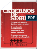 Cadernos de Seguro - Análise Dos Riscos de SMS Na Construção Civil