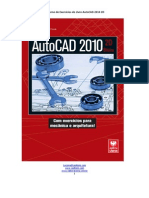 Caderno de Exercícios AutoCAD 2010 2D