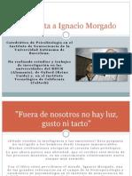 Entrevista a Ignacio Morgado