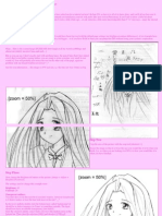 How to Draw Anime Hair (Coloring With Photoshop)