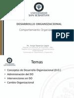 Comportamiento Organizacional (DO y Cambio)
