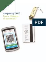 Deloitte Reports - Hospitality 2015