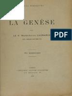 Marie Joseph Lagrange_Genèse_ Etudes Bibliques_Paris 1905