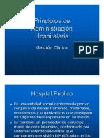 Principios de Gestion Hospitalaria