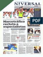GradoCeroPress Dom 26 May 2014 Portadas Impresas de Medios Nacionales