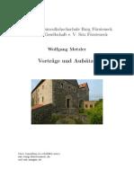 Wolfgang Metzler - Vorträge und Aufsätze