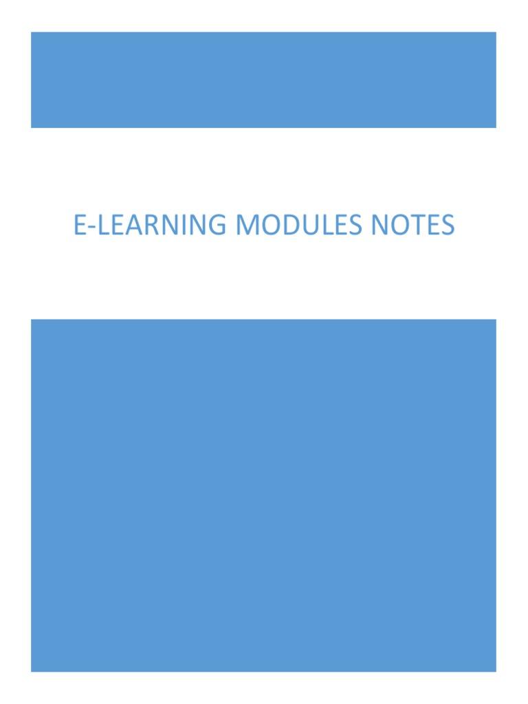 Cognizant E-learning Modules   Html   Html Element