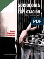 Pablo Gonzalez Casanova Sociologia de La Explotacion