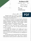 Prokurator Generalny Opinia Do Rzadowego Projektu Nowelizacji
