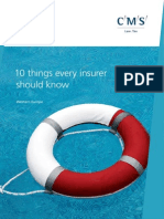 CMS Insurance - 10 Things Every Insurer Should Know (Western Europe) June 2010