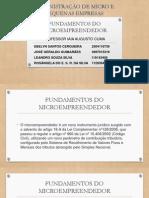 Fundamentos Do Microempreendedor