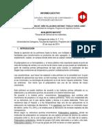 Informe Ejecutivo Ciencia de Los Materiales