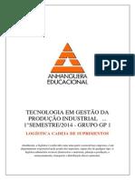 ATPS Logistica Cadeia de Suprimentos